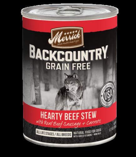 Merrick Backcountry - Hearty Beef Stew