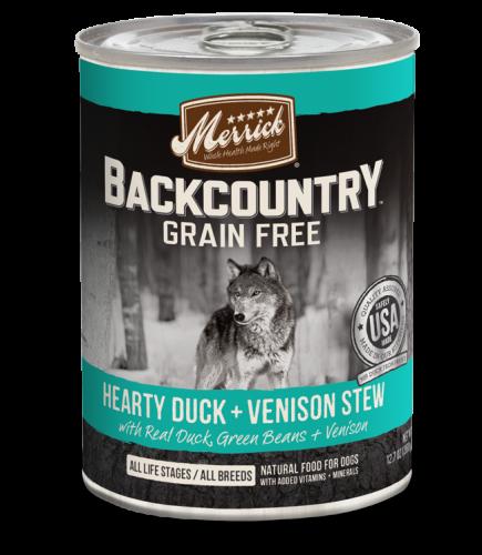 Merrick Backcountry - Hearty Duck + Venison Stew