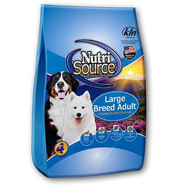 NutriSourceLarge Breed Adult-Chicken & Rice Formula Dry Dog Food