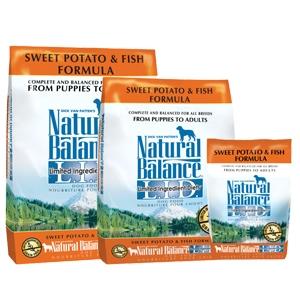 Natural Balance Diet Sweet Potato & Fish Dry Dog Food