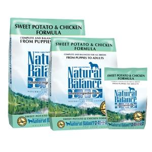 Natural Balance Diet Sweet Potato & Chicken Dry Dog Food