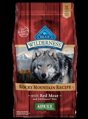 Blue Buffalo Wilderness Rocky Mountain Recipe  Red Meat Dog 10#
