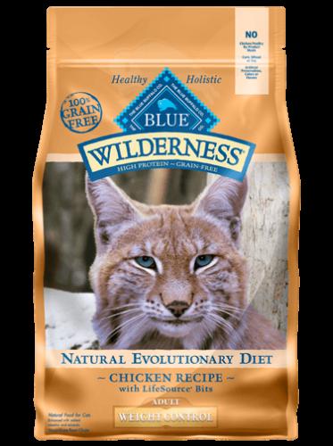 Blue Buffalo Wilderness Weight Control Chicken/Brown Rice Cat 11#