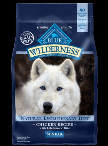 Blue Buffalo Wilderness Senior Chicken Dog 24#
