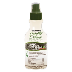Sentry Natural Defense Flea & Tick Spray Dogs & Puppies