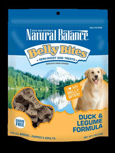 Natural Balance Belly Bites Duck & Legume Formula