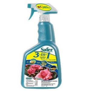 Safer 3-in-1 Garden Spray RTU Qt.