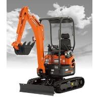 Zero Tail Swing Compact Excavator