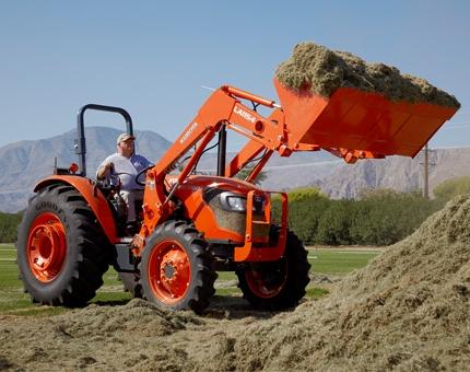 Kubota 55hp Tractor