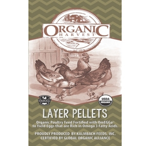 Organic Layer Pellets with Omegga Chicken Feed
