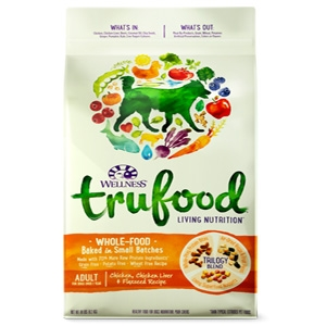 Trufood Adult Chicken, Chicken Liver & Flaxseed Recipe for Dogs