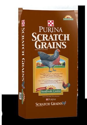 Purina Scratch Grains Chicken Feed