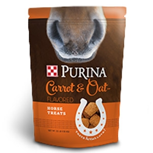 Purina® Carrot and Oat-Flavored Horse Treats