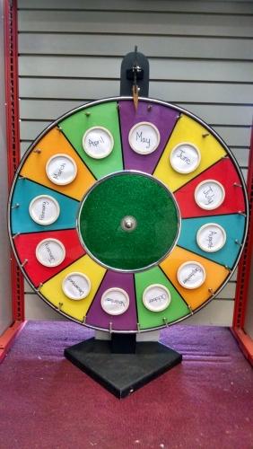 Promo Roulette Wheel