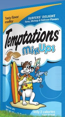Mars Whiskas Temptations Surfer Treat 12/2.1Z