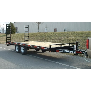 Bri-Mar Deck Over Trailer