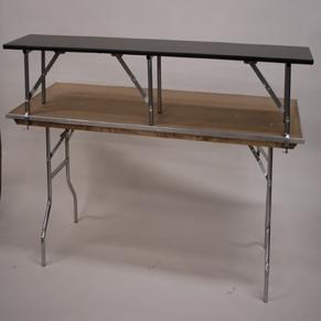 Alluminum 6' Table Top Riser/ Bar