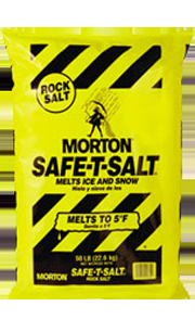 Morton Safe-T-Salt Rock Salt