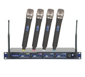 4 Wireless Mics