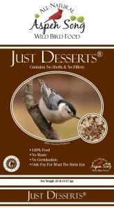 Aspen Song Just Desserts Bird Feed