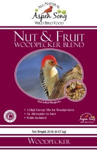 Aspen Song Nuts & Fruit Woodpecker Bird Feed