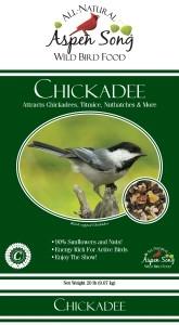 Aspen Song Chickadee Bird Feed