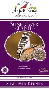 Aspen Song Sunflower Kernels Bird Feed