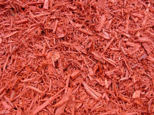 Cedar Mulch - Red Dyed