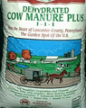 Dehydrated Cow Manure