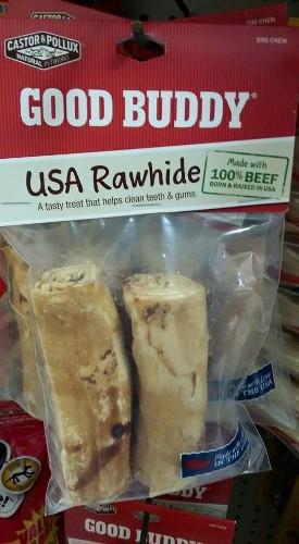 Good Buddy Rawhide Sticks