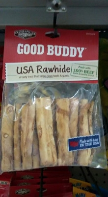 Good Buddy Rawhide Mini Rolls