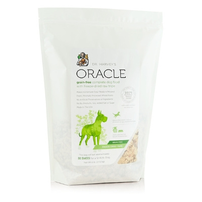 Oracle Grain Free Dog Food with Freeze Dried Raw Tripe