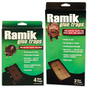 Ramik Glue Traps Family Farm Garden