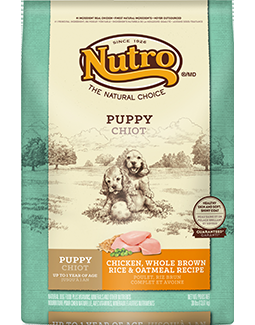 Nutro Original Puppy Chicken, Whole Brown Rice & Oatmeal Recipe