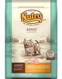Nutro Original Adult Chicken, Whole Brown Rice & Oatmeal