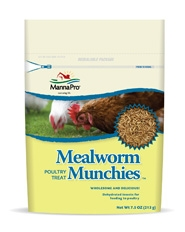 Mealyworm Munches Poultry Treat