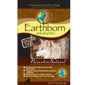 Earthborn Grain Free Primitive Natural Dry Dog Food