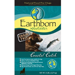Earthborn Grain Free Coastal Catch Dry Dog Food