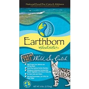 Earthborn Grain Free Wild Sea Catch Dry Cat Food