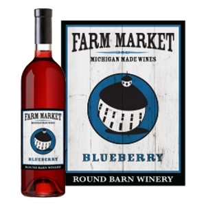 Round Barn Farm Market Blueberry Wine