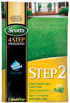 Scotts Step 2 Weed Control Plus Lawn Food
