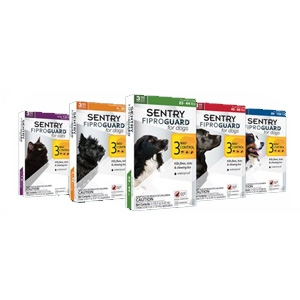 Sentry Fiproguard Flea & Tick for Cats & Dogs