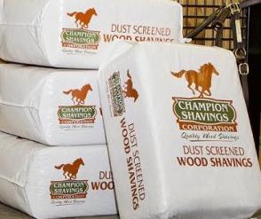 Champion Pine Shavings