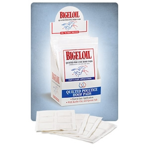 Absorbine® BigelOil® Quilted Poultice Hoof Pads