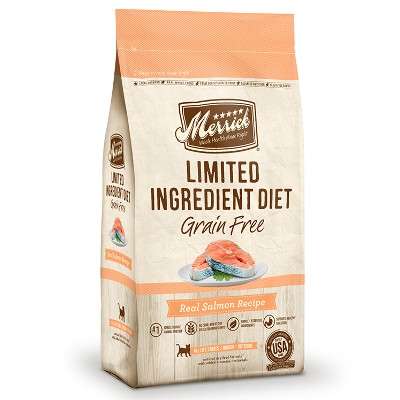 Limited Ingredient DietGrain Free Real Salmon Dry Cat Food