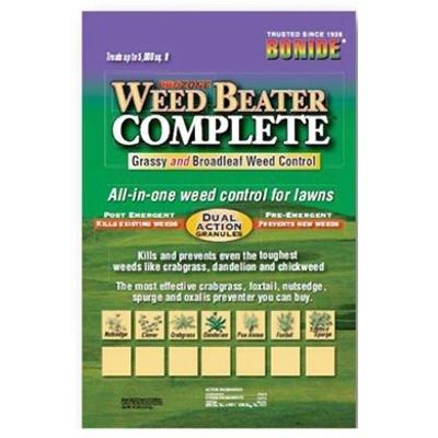 Bonide Weed Beater Complete Weed Killer Granules, 10 lbs.