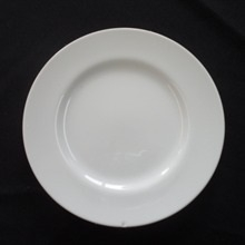 "White Contemporary: 6"" B&B/dessert plate"