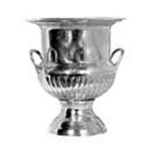 Champagne Bucket: silver