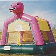 Bounce: 15x15 Dinosaur