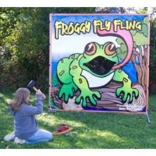 Game- Froggy Fly Fling